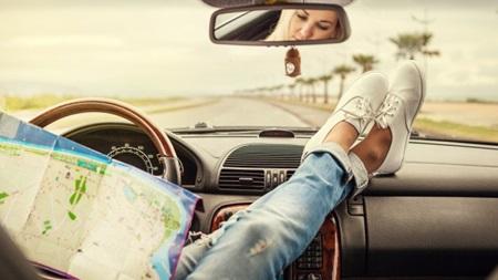 週末小旅行に出かける