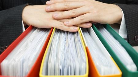 アルバム、手紙、文書類の処理