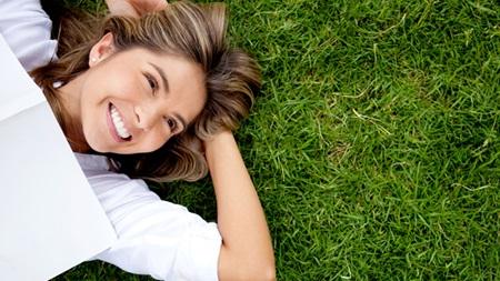 笑顔でストレスを軽減させる