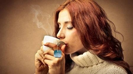 温かい飲み物を飲む解消法