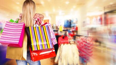 買い物で気分転換