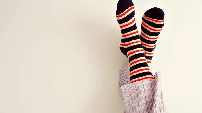 寝る時に靴下をはかない