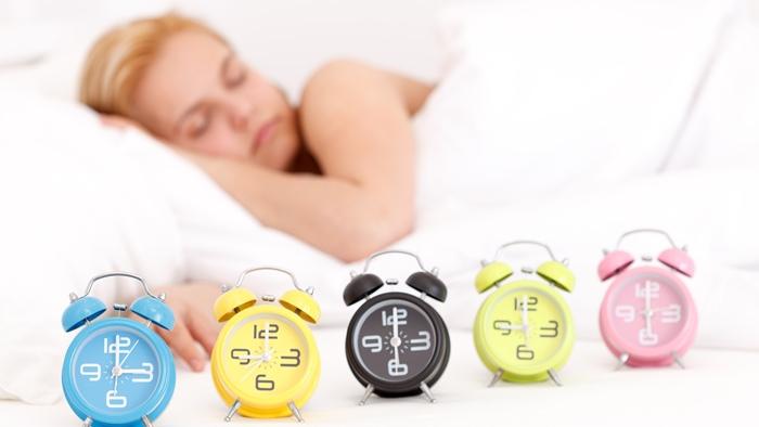 目覚まし時計を複数使う