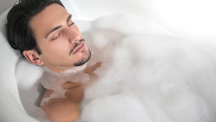 適温で入浴する