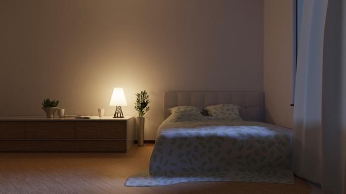 寝る時の照明を変える
