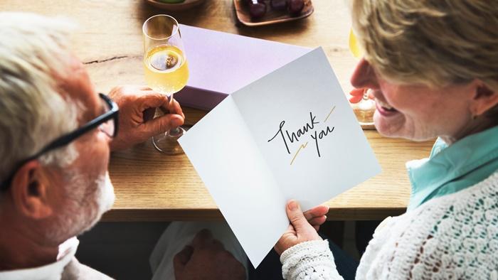 「いつもありがとう!」シンプルな言葉が一番効果的