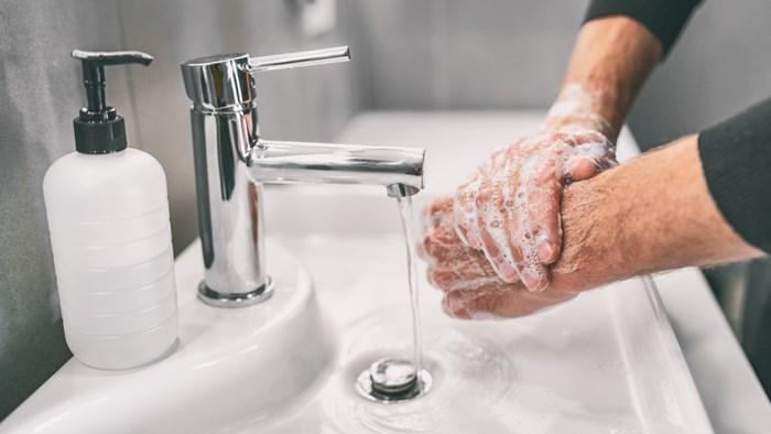 手を洗う時に毎回せっけんを使っている